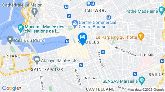 Hotel Saint Ferreol Map