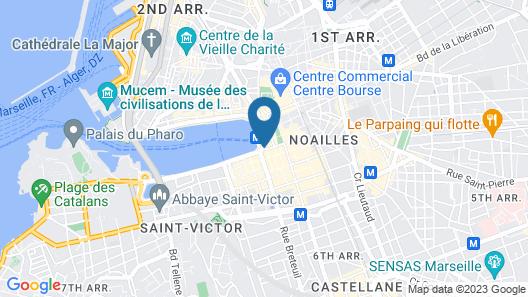 Maisons du Monde Hôtel & Suites - Marseille Vieux Port Map