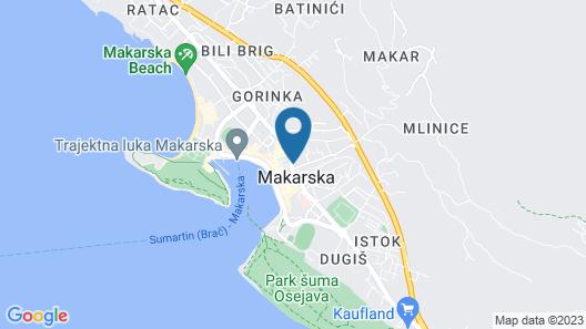 Apartments Selak Map