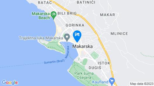 Apartments Optimist Map