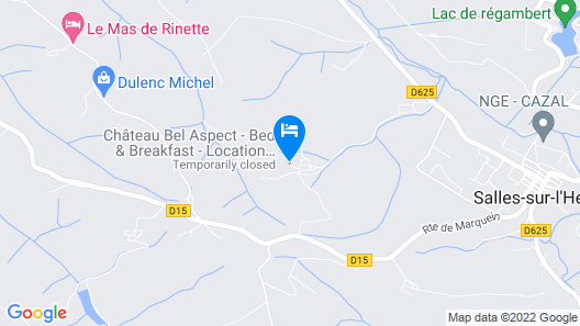 Château Bel Aspect Map