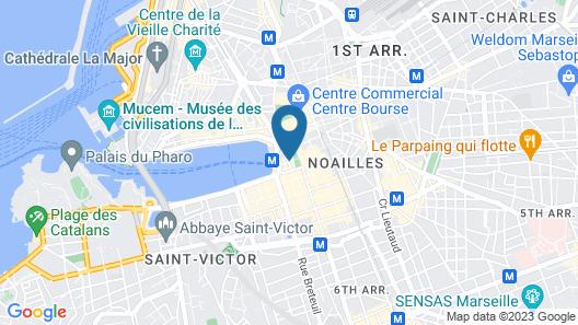 Hôtel Carré Vieux Port Map