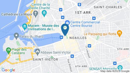 Grand Hotel Beauvau Marseille Vieux-Port – MGallery Map