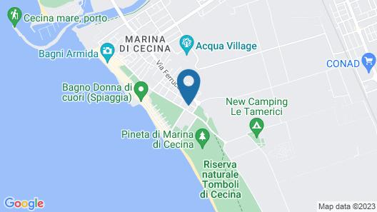 Hotel Massimo Map