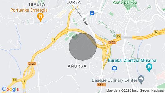 Villa Alimar - Basque Stay Map