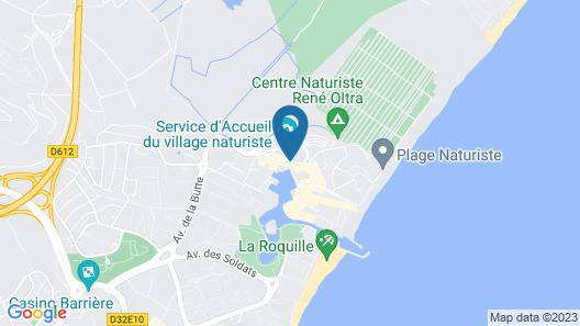 Hôtel Libertin R5 Village Cap d'Agde Map