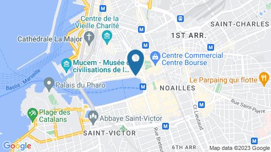 Hôtel la Résidence du Vieux-Port Map