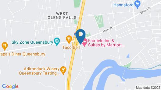 Days Inn by Wyndham Queensbury/Lake George Map