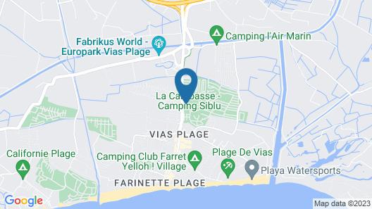 La Carabasse Map