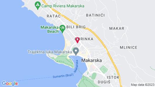 Villa Josip Jukic Map