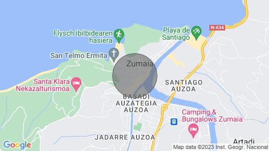 Ardantza - Basque Stay Map