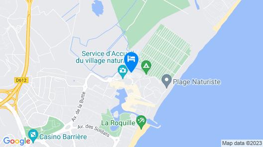 Natureva Spa Map