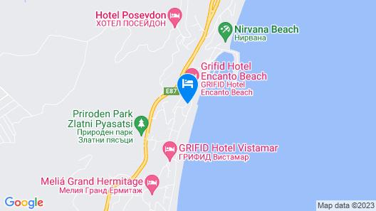 Hotel - GRIFID MAREA Map