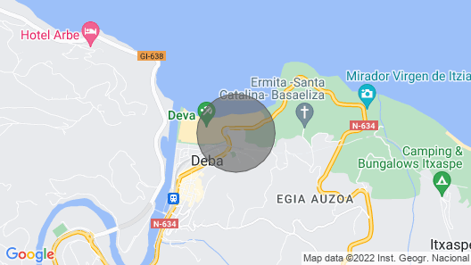 Itsas Begi - Basque Stay Map