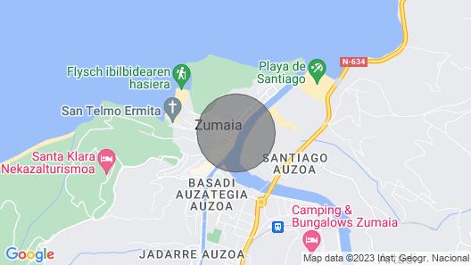 Villa LUZ - Basque Stay Map