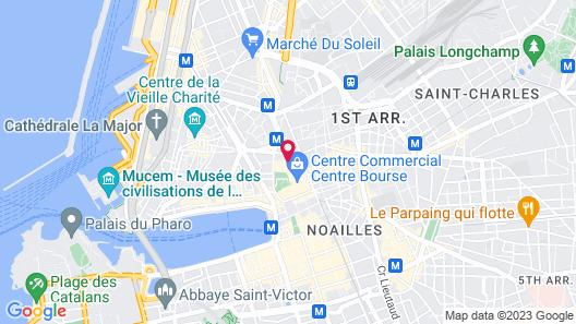 Mercure Marseille Centre Vieux Port Map