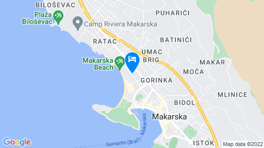 Valamar Meteor Hotel Map