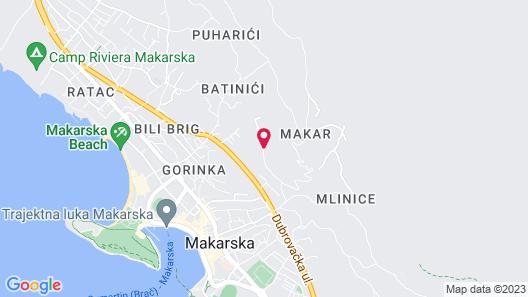 Villa Tonka Map