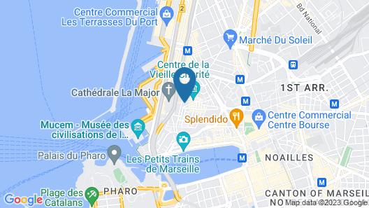 Chambre d'hôte La Maison du petit canard Map