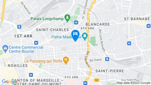 Superbe appartement bourgeois Place Sébastopol Map