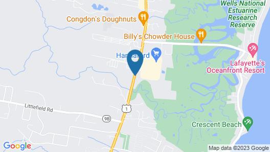 Hampton Inn & Suites Wells-Ogunquit Map
