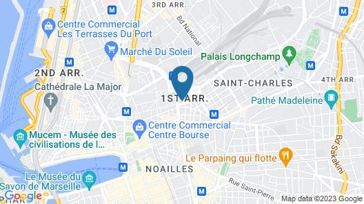 Chambre d'hôtes Liberté Map