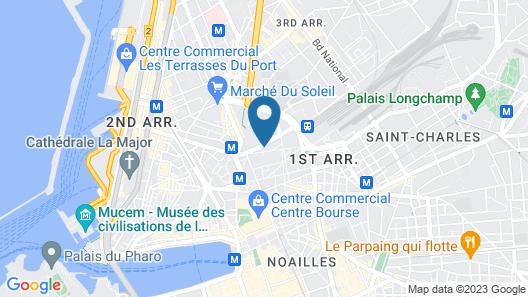 Residhome Marseille Saint Charles Map