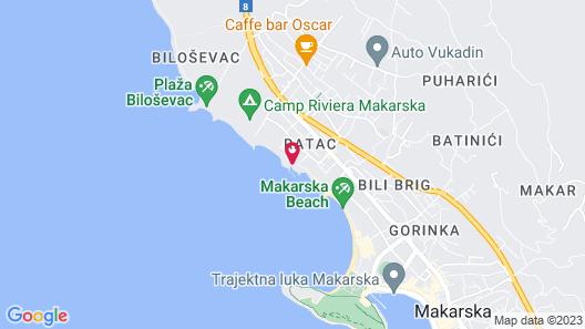 Hotel Maritimo Map