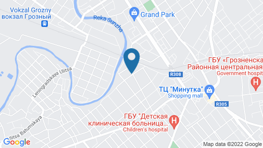 Union Hotel Grozny Map