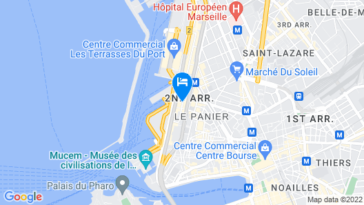 Residhome Marseille Map