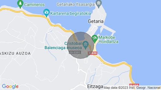 Tretza - Basque Stay Map