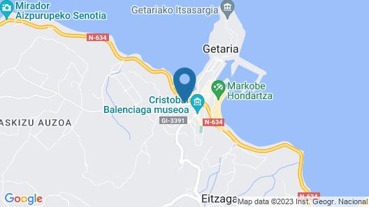 Aingura - Basque Stay Map