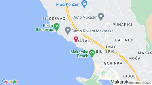 Hotel Milenij Map