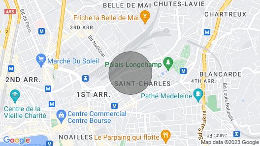 Cosy Island Saint Charles Map