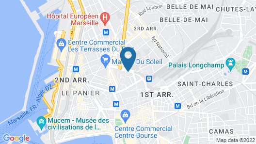 Toyoko Inn Marseille Saint Charles Map