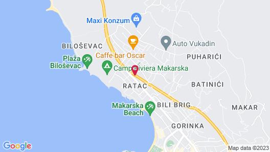 Hotel Rosina Map