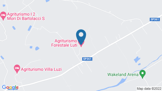 Agriturismo Forestale Luti Map