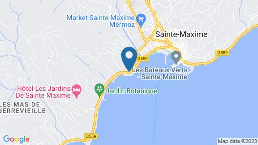 La Belle Aurore Map