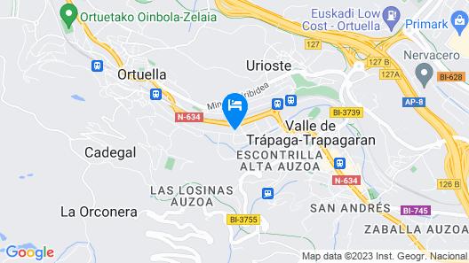 Hotel Ortuella Map