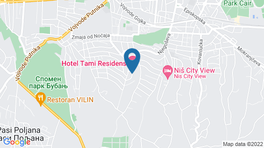 Tami Residence Map