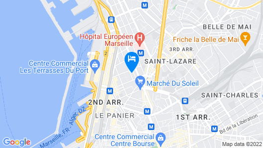The Jewel of La Joliette Map