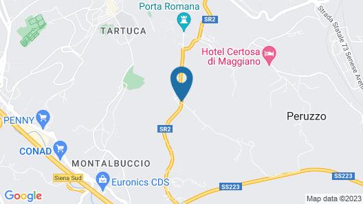 Palazzo di Valli Map