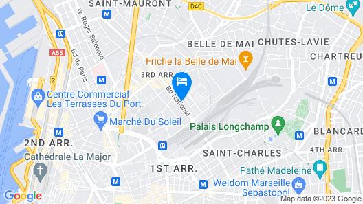 Résidence Suiteasy Le 124 Map