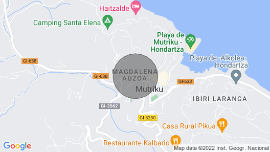 Kaia --- Basque Stay Map