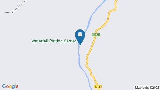 Waterfall Rafting Center Map