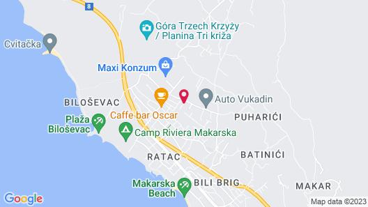 Villa Maslina Map