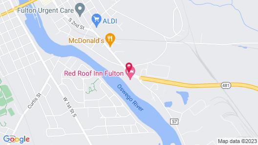 Red Roof Inn Fulton Map