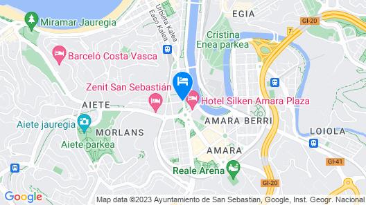 Astoria7 Map