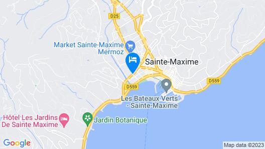 Hotel Le Petit Prince Map