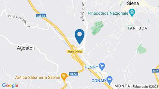 ApartHotel Anghel Map